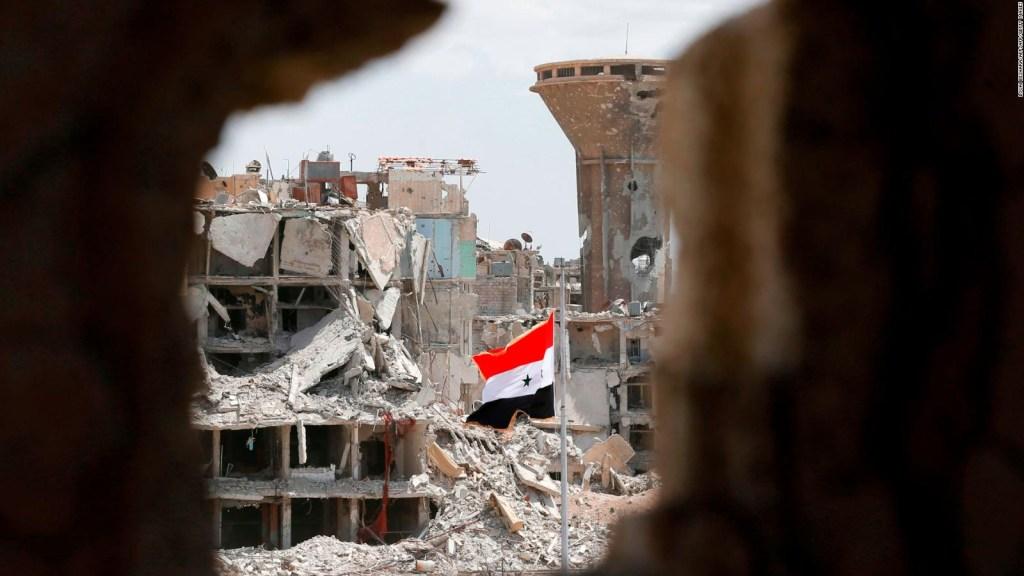 EE.UU. denuncia el régimen sirio de ataque químico