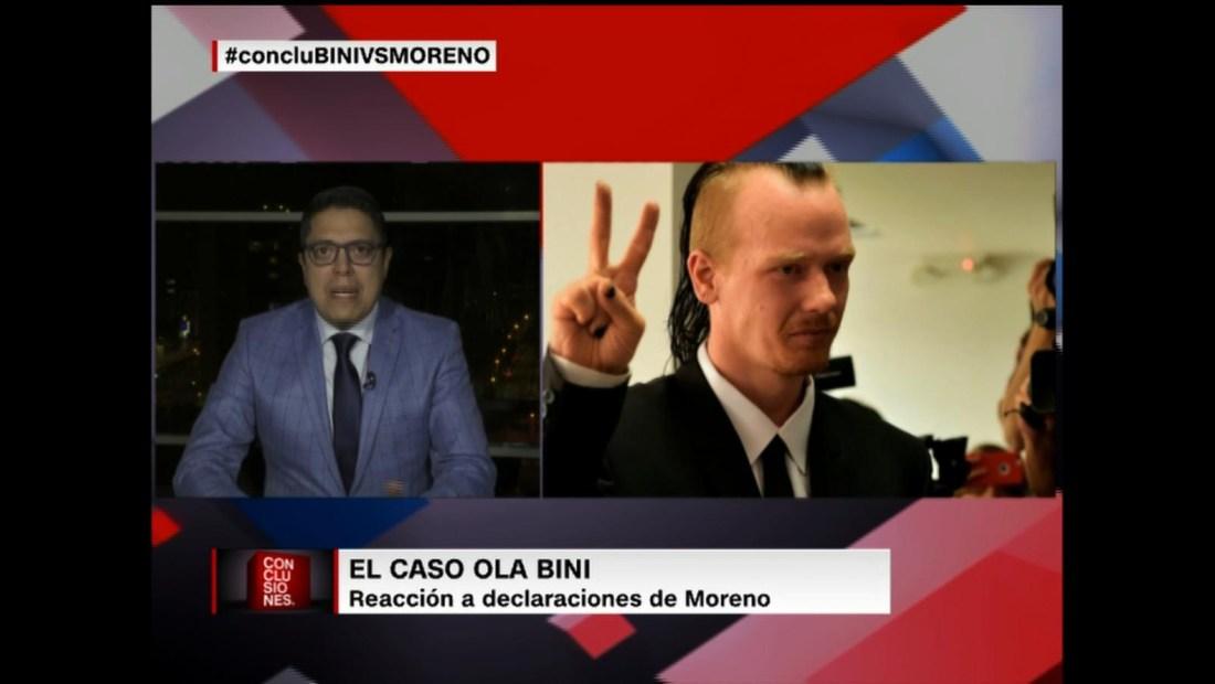 Ola Bini rechaza expresiones del presidente de Ecuador