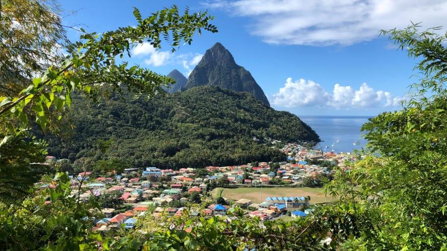Santa Lucía, Antillas menores.