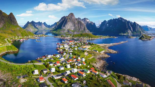 Senja, Noruega.