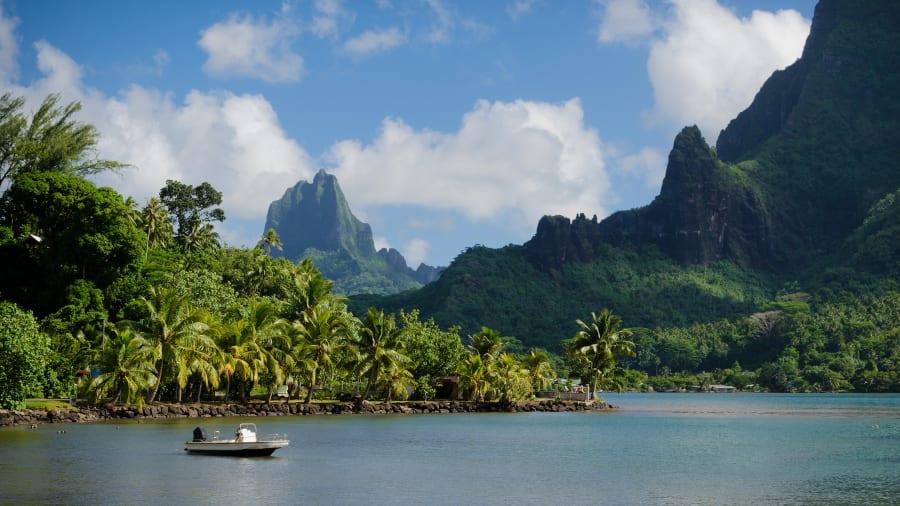 Mo'orea, Polinesia francesa.