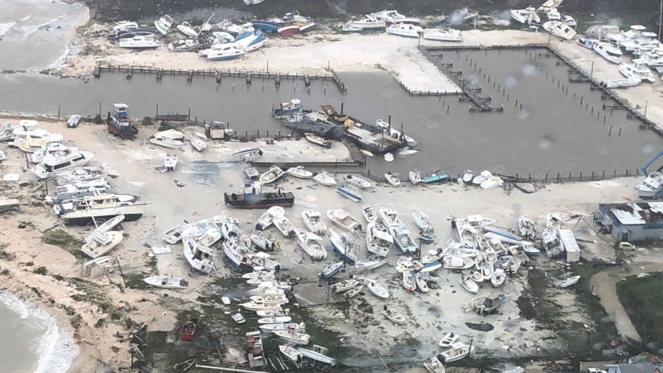 Dorian botes Bahamas