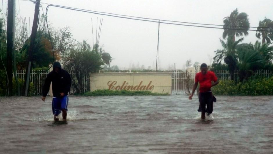Huracán Dorian inundaciones Freeport
