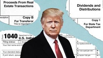 Juez ordena que Trump revele sus declaraciones de impuestos