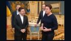 Ucrania: Zelensky se reúne con Tom Cruise
