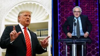 Robert de Niro: Trump es un gánster