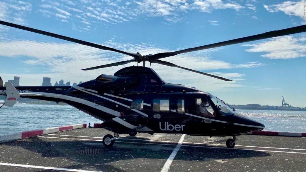 Así es el nuevo servicio de helicópteros de Uber