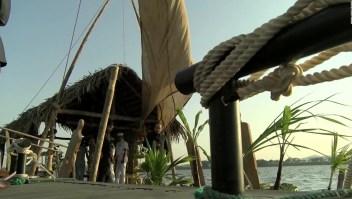 Ecuador: Se reconstruyó la balsa Humboldt en su 250 aniversario