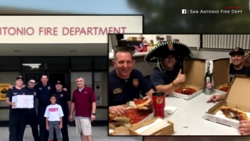Un pedido de pizza equivocado se convierte en un reto viral