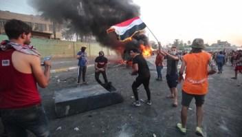 Nueva jornada de protestas en Iraq