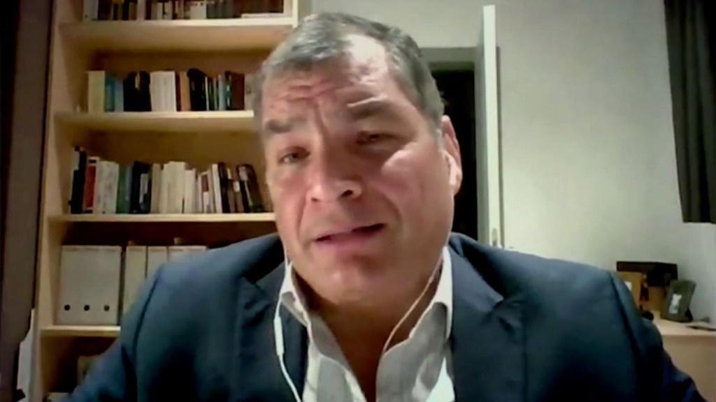 Correa: Lenín Moreno rompió la democracia