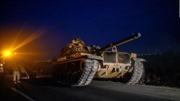La ofensiva turca en Siria