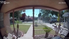 Grúa colapsa sobre varias casas en California
