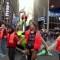 Decenas de activistas bloquean el tráfico en Times Square