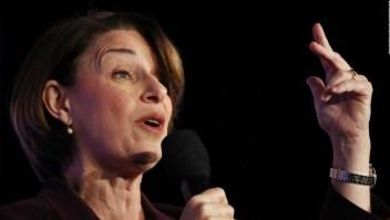 Amy Klobuchar promete apoyar una prohibición para las prácticas de conversión de género