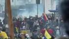 Ecuador: se intensifica la violencia en las protestas