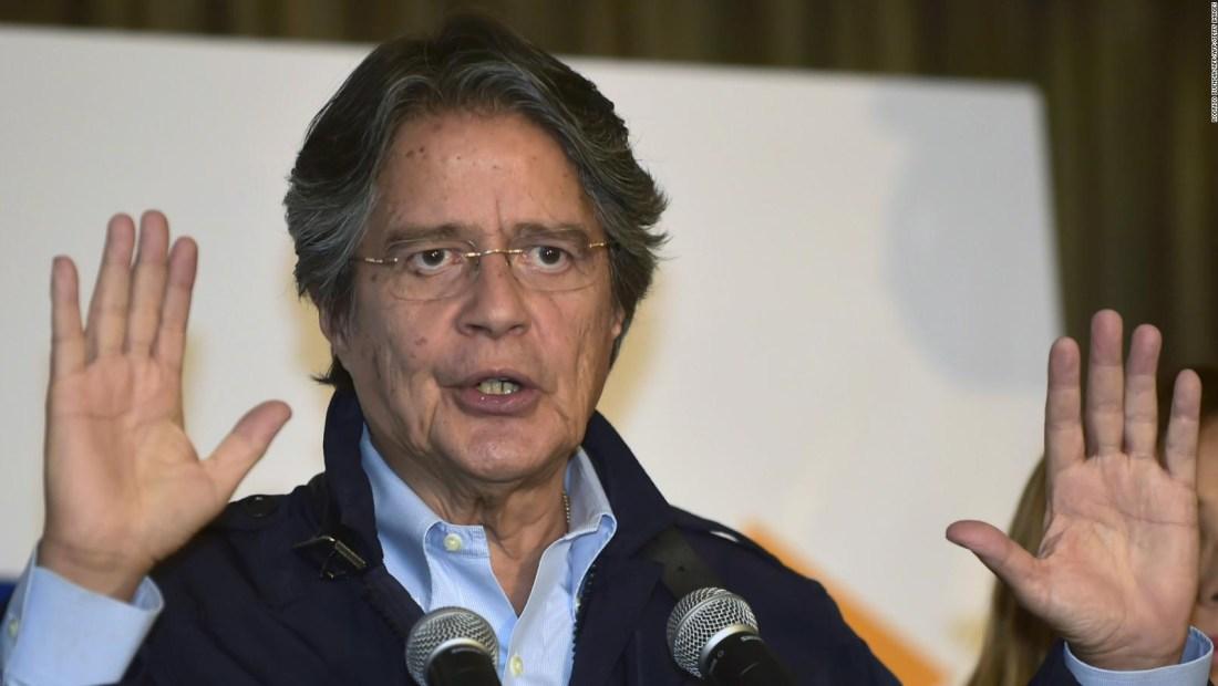 """Guillermo Lasso: """"El responsable de esto es Rafael Correa con el apoyo de Maduro"""""""