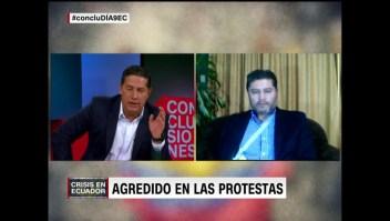 """Freddy Paredes: """"El Ecuador es hoy el heredero de una década de odio hacia la prensa"""""""