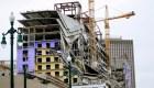2 muertos tras derrumbe de edificio en Nueva Orleans