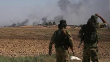 Siria: Avanzan milicias kurdas en medio de los combates en el norte del país