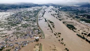 El tifón Hagibis causa devastación en Japón
