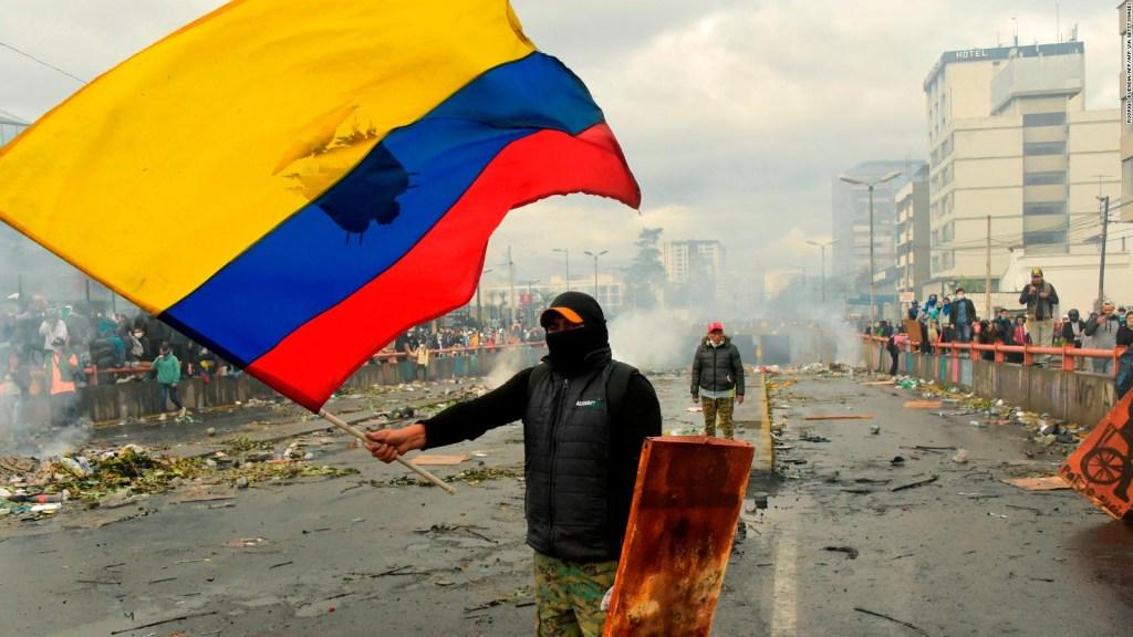 11 días de manifestaciones en Quito