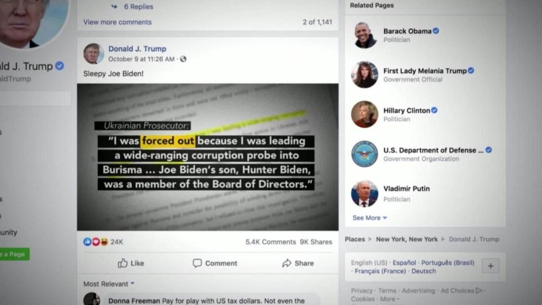 ¿Recibe dinero Facebook por promover mentiras?