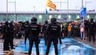 Continúan las protestas en Cataluña