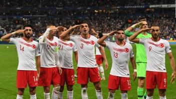 El festejo de la selección de Turquía que causa polémica