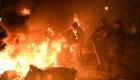 Protestas y enfrentamientos en Barcelona