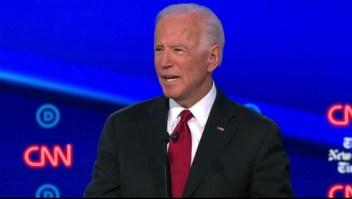 Biden negó corrupción de su hijo en Ucrania en debate demócrata