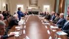 La foto de una tensa reunión entre Pelosi y Trump