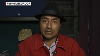 Gobierno de Ecuador e indígenas analizan opciones