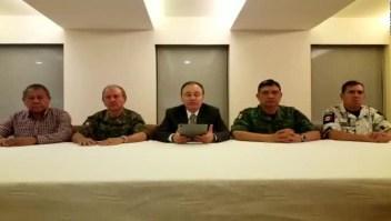 Durazo y gabinete de Seguridad acudirán a Culiacán