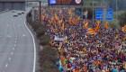 Protestas y huelga general en Cataluña