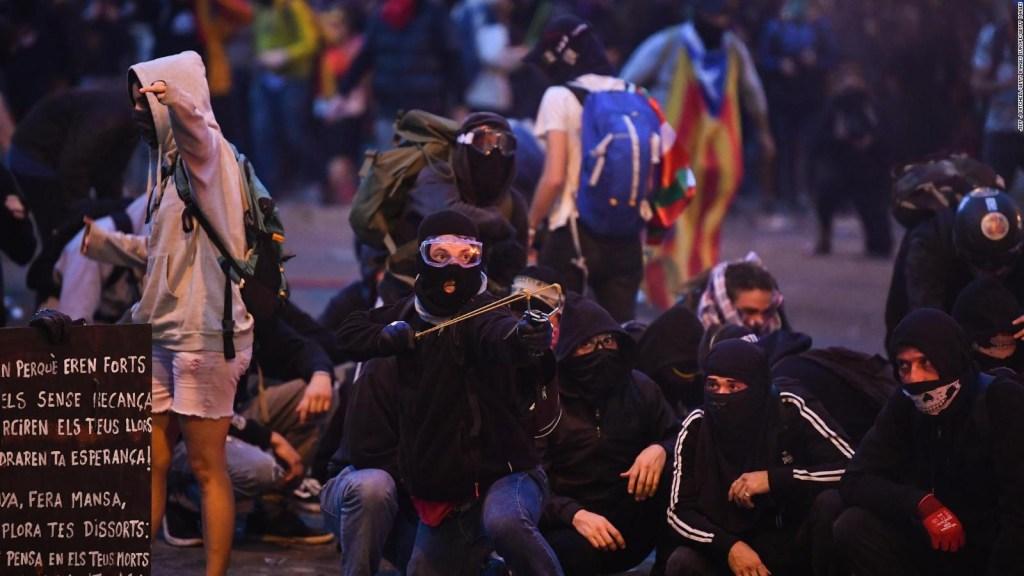 Así fue el quinto día de protestas en Cataluña