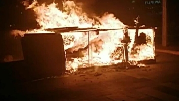 Protestas contra el presidente de Honduras