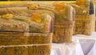 Descubren 30 sarcófagos egipcios en Luxor