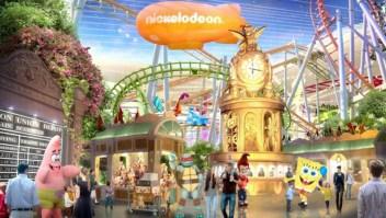 Nickelodeon abre el parque temático cubierto más grande de América del Norte