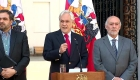 Piñera se compromete a resguardar el orden público