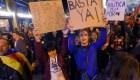 Multitud se congrega en Barcelona y aboga por una España unida