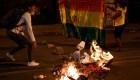 Protestas, enfrentamientos y represión en Bolivia