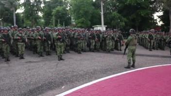 Envían Fuerzas Especiales del Ejército a Culiacán