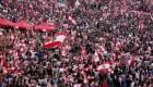 Masivas protestas en Beirut