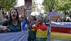 Las imágenes más impactantes de las protestas en Bolivia