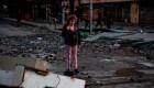 Destrozos en Santiago por  protestas