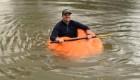 Transforman calabaza gigante en un bote