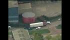 Aparece un camión con 39 cuerpos en Gran Bretaña