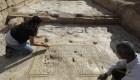Hallan restos de una iglesia en honor a un misterioso mártir