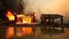 California: Así avanza el voraz incendio forestal en Kincade